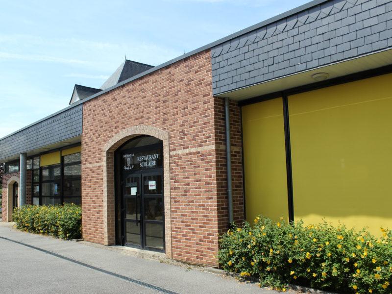 facade du restaurant scolaire